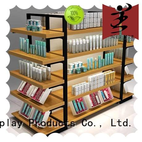 acrylic cosmetic shelf for counter MEI JIA Display