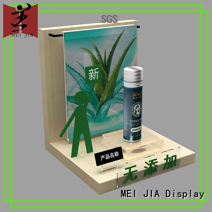 body care Artdeco brand table display with hook for showroom