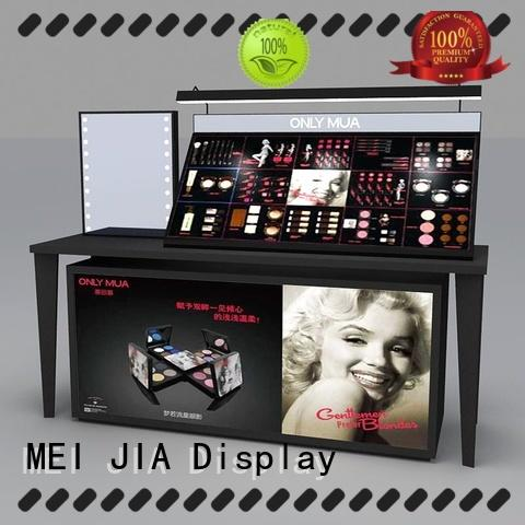 MEI JIA Display retail retail makeup display stand factory for showroom