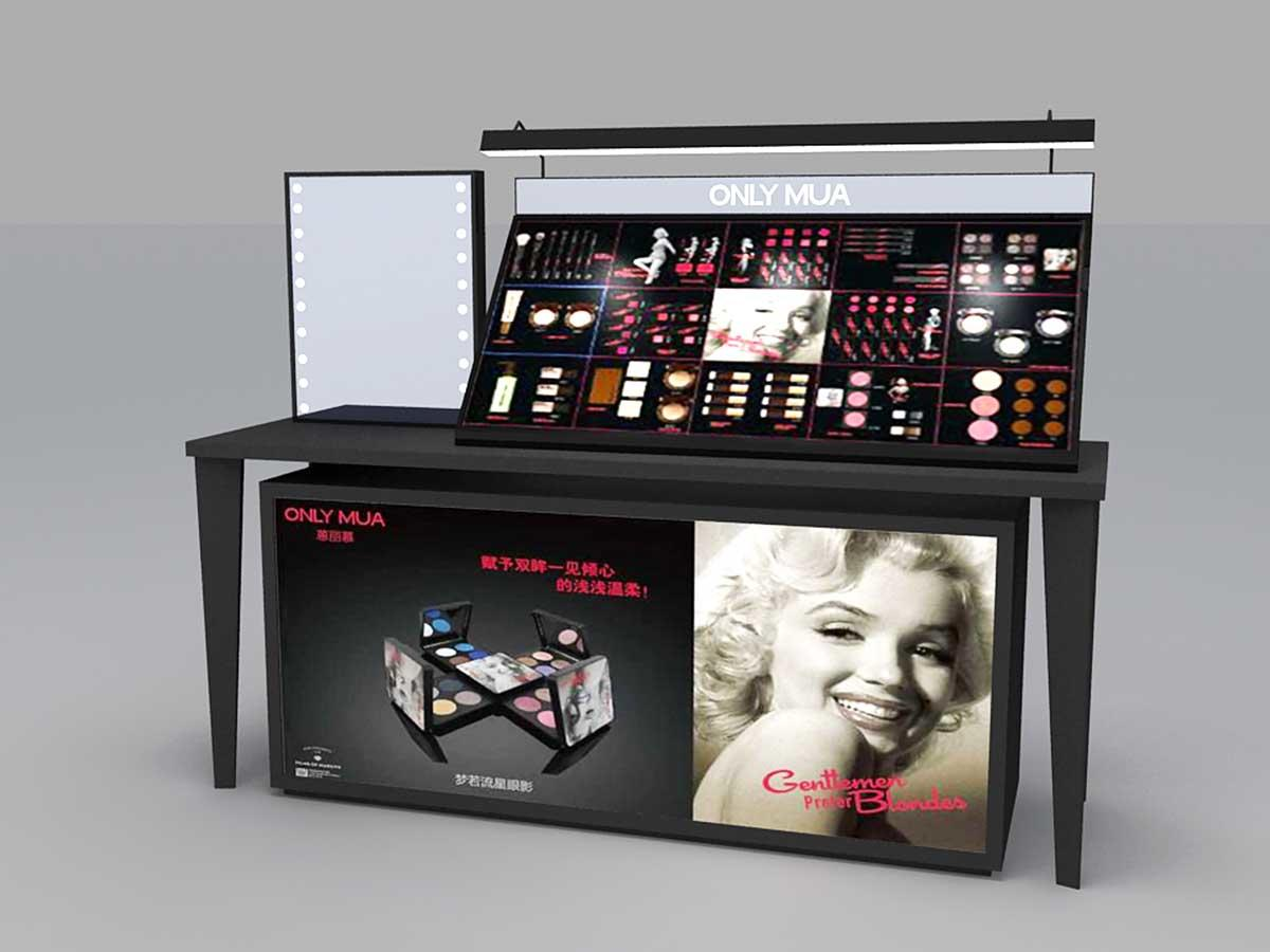 Makeup Brand Display Counter-1