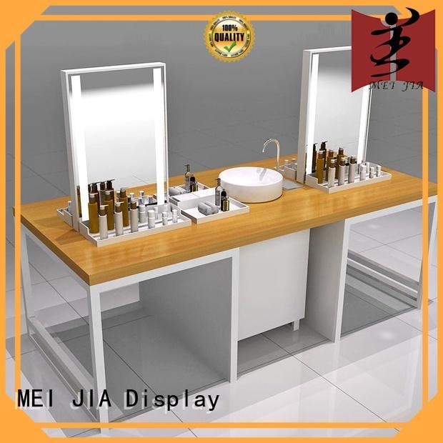 MEI JIA Display showcase cosmetic showcase supply for shoppe