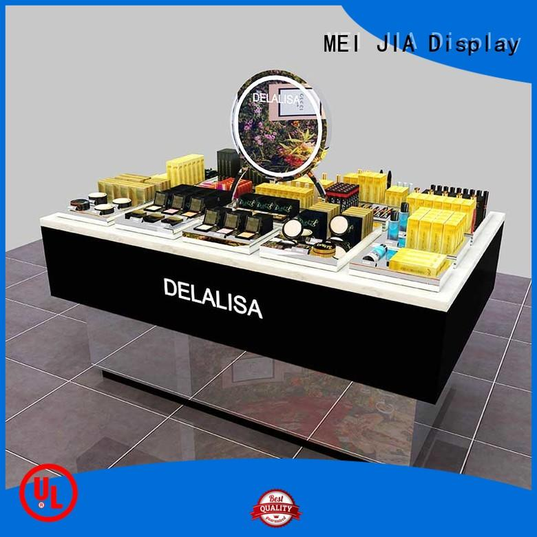 MEI JIA Display retail acrylic cosmetic display stand manufacturers for store