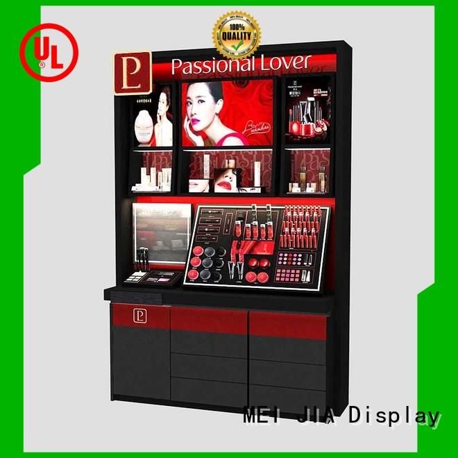 MEI JIA Display Latest makeup display cabinet manufacturers for shoppe