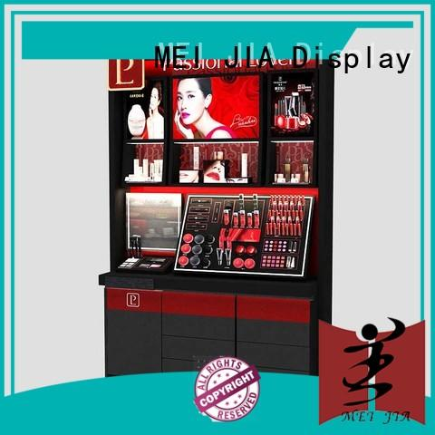 MEI JIA Display Latest makeup display cabinet suppliers for showroom