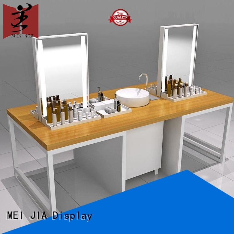MEI JIA Display stand cosmetic display cabinet great design for shop