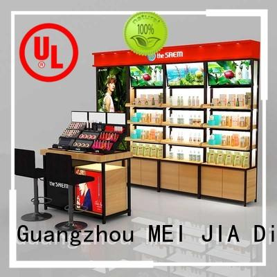 MEI JIA Display Best acrylic makeup display suppliers for counter