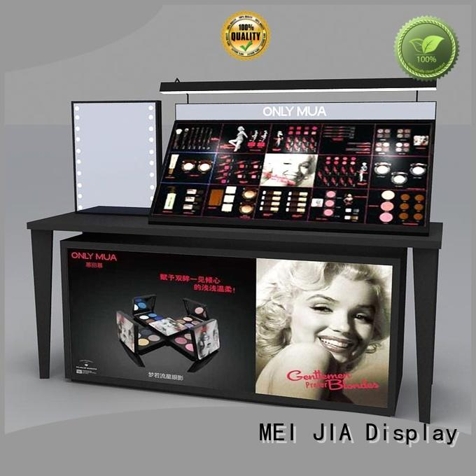 MEI JIA Display table acrylic makeup display suppliers for store