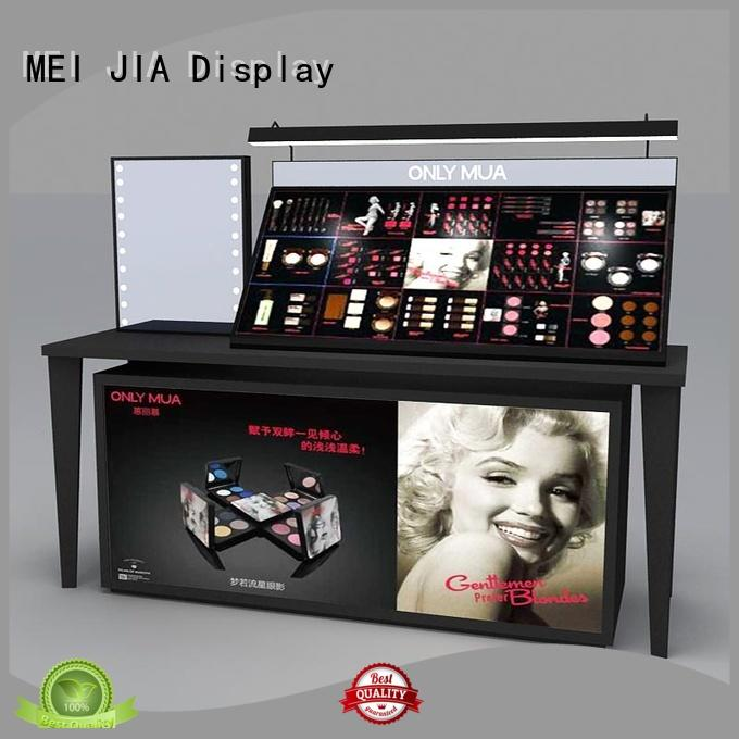 MEI JIA Display Latest cosmetics acrylic display suppliers for store