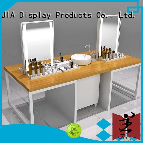 customized skin care display stands with hook for showroom
