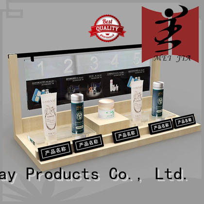 MEI JIA Display fashional cosmetic showcase for brand for counter