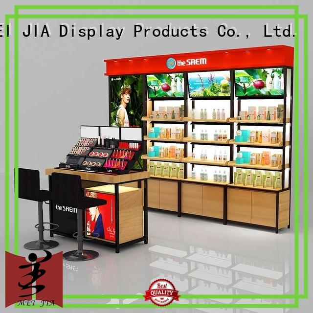 MEI JIA Display wall cosmetic product display manufacturers for exclusive shop