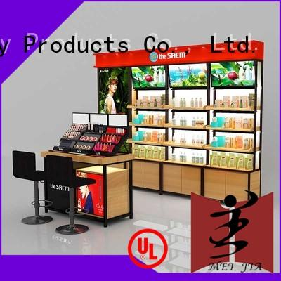 MEI JIA Display beauty makeup display stand for brand for counter