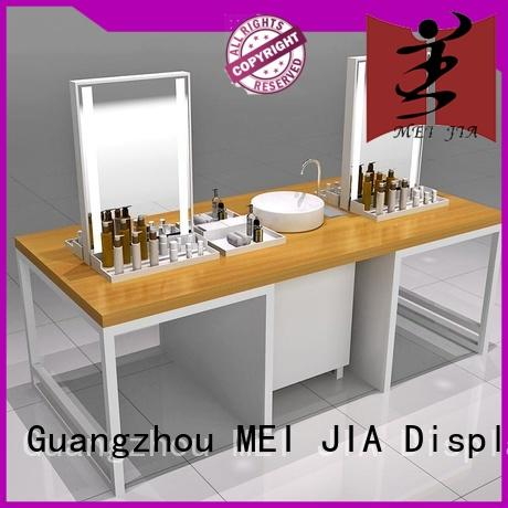 cabinet cosmetic showcase holder for shop MEI JIA Display