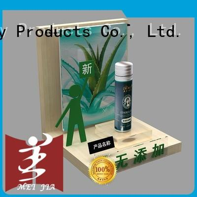 custom acrylic display stands hook for showroom MEI JIA Display