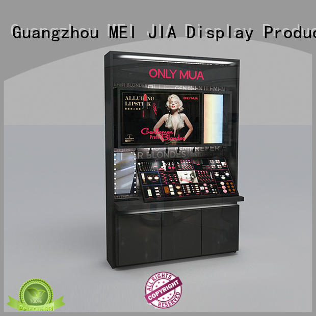 Latest makeup retail display retail factory for store