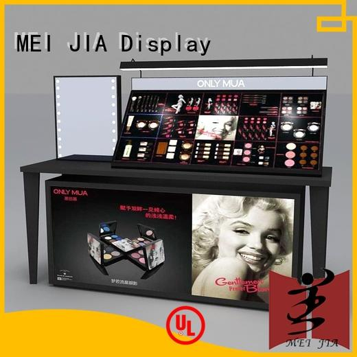 MEI JIA Display body care makeup retail display manufacturer for store