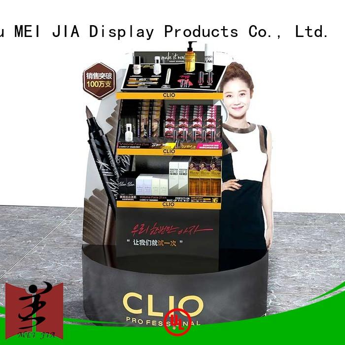 MEI JIA Display showcase acrylic makeup holder for sale for shoppe