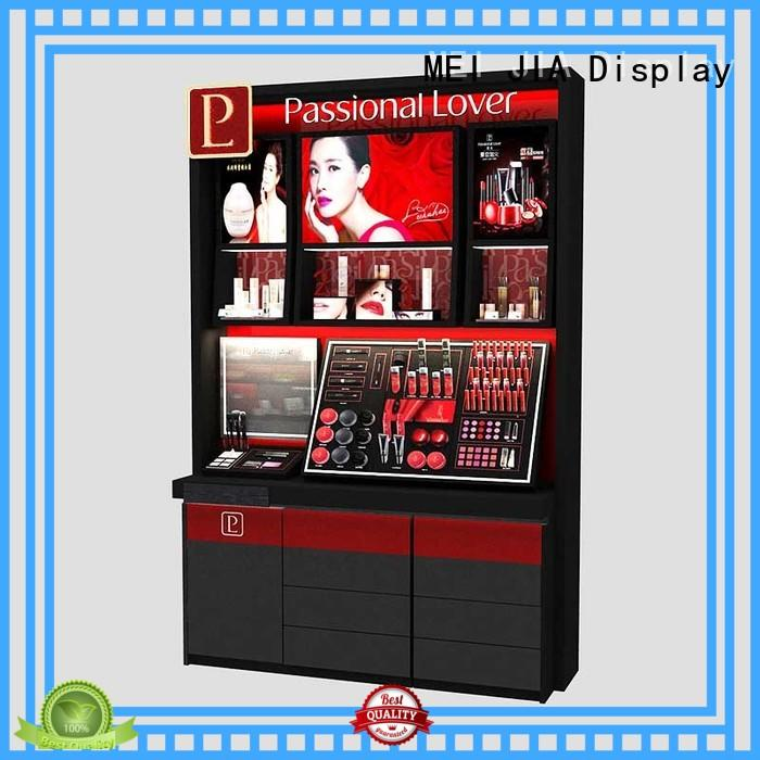 MEI JIA Display Best cosmetic display cabinet company for exclusive shop