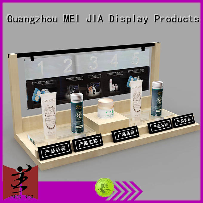 popular cosmetic showcase shelf for sale for shop