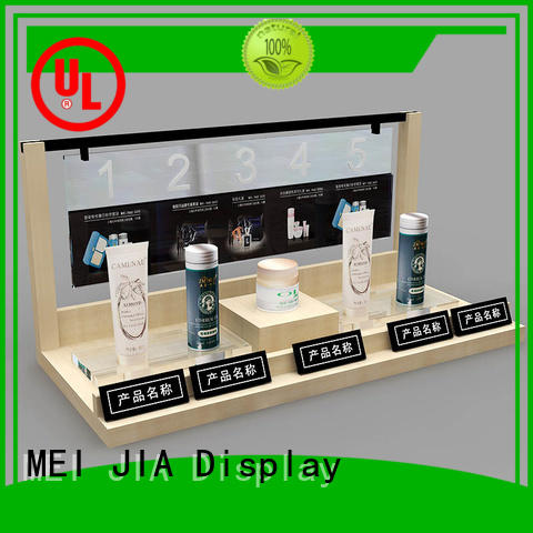 MEI JIA Display acrylic makeup display stand factory for exclusive shop