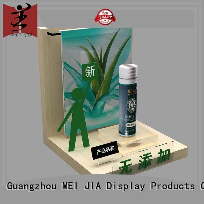 MEI JIA Display try acrylic cosmetic display stand manufacturer for exclusive shop