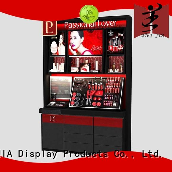 customized makeup display counter for brand for counter MEI JIA Display