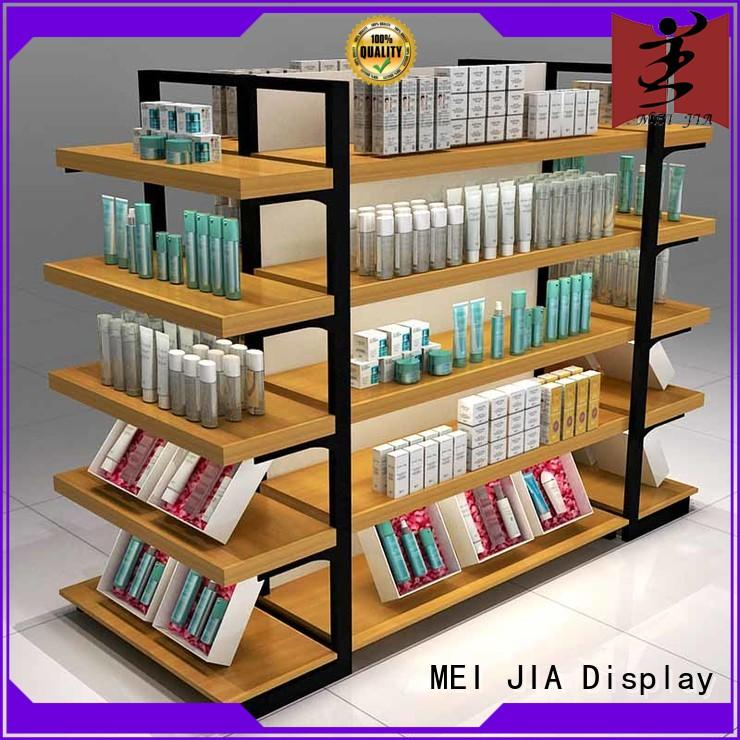 MEI JIA Display customized cosmetic display stand cabinet for showroom