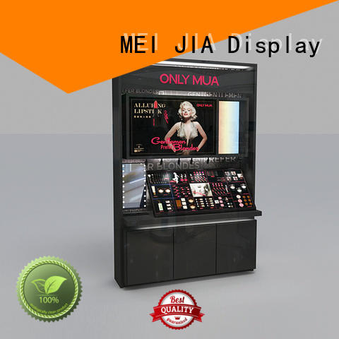 MEI JIA Display table acrylic cosmetic display stand for business for exclusive shop