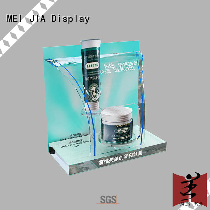 MEI JIA Display customized cosmetics display shelves body for exclusive shop