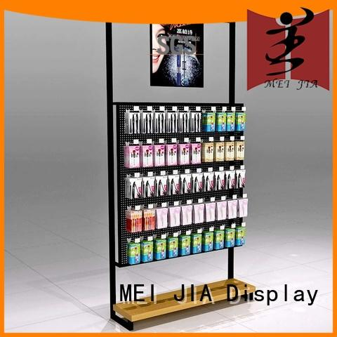 MEI JIA Display hook acrylic makeup display manufacturer for shop