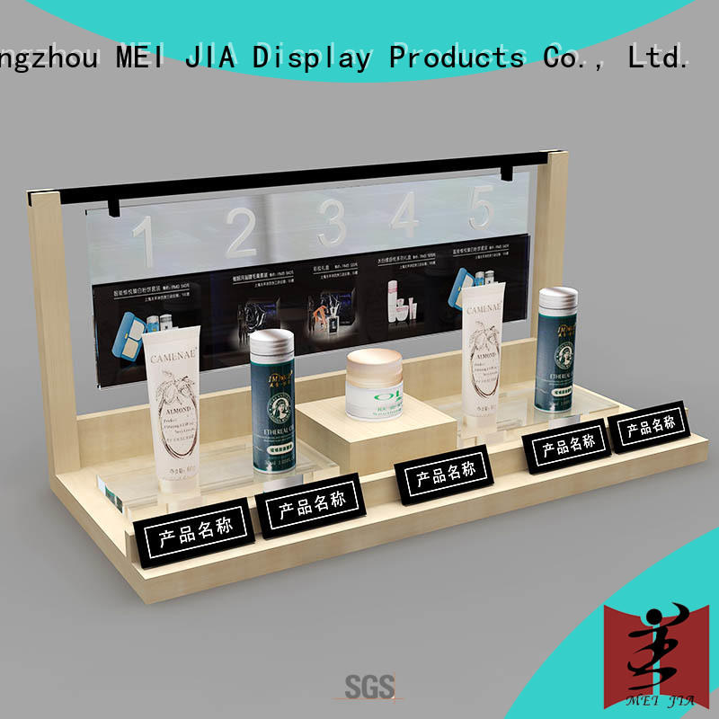 MEI JIA Display customized cosmetic display counter holder for shop