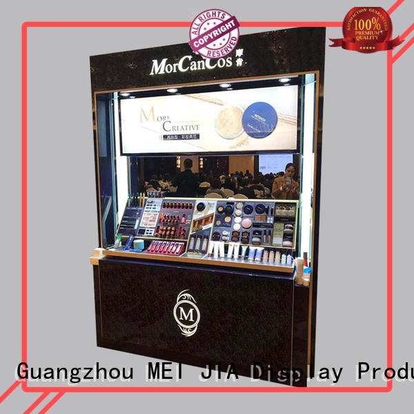 MEI JIA Display wood cosmetic display cabinet company for shoppe
