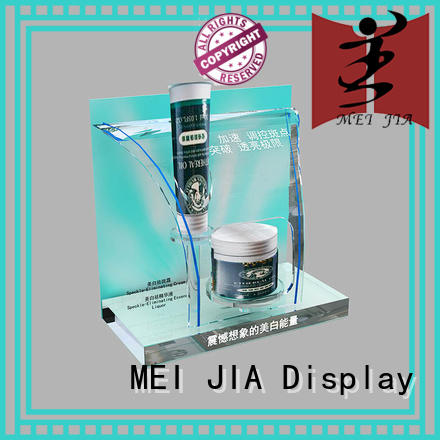 MEI JIA Display fashional acrylic makeup display for brand for exclusive shop
