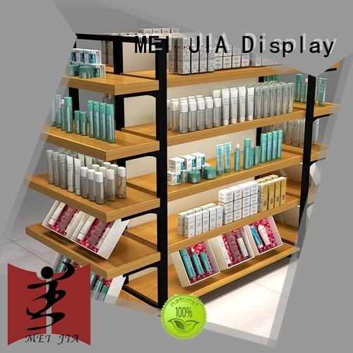 MEI JIA Display cabinet makeup display stand with hook for shop