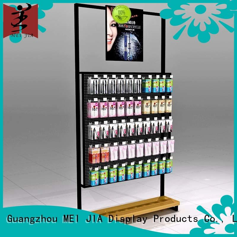 skin care display stands shelves for shop MEI JIA Display