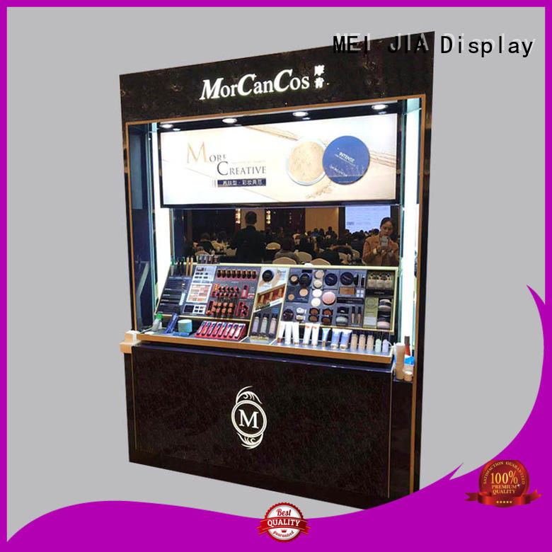 Top cosmetic showcase makeup factory for exclusive shop