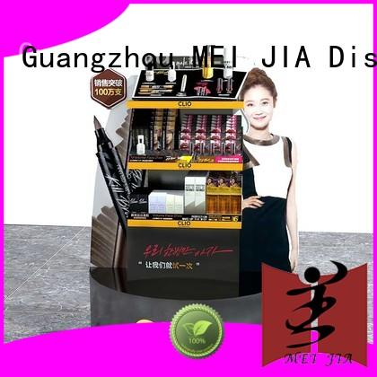 MEI JIA Display body care makeup retail display with hook for shoppe