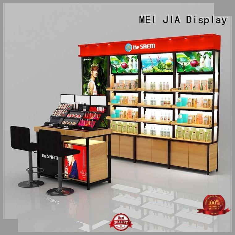 MEI JIA Display hook cosmetic product display company for exclusive shop
