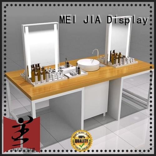 popular makeup retail display table with hook for counter