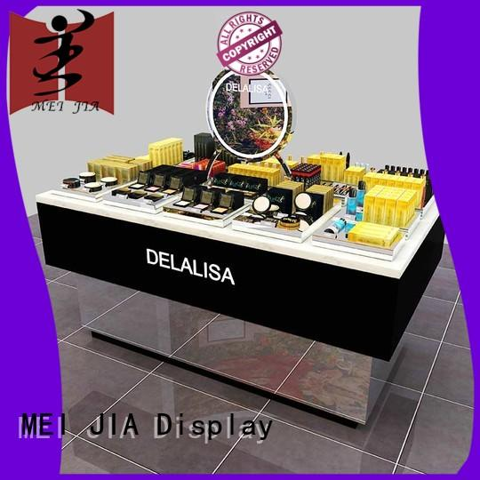 wall makeup display counter beauty for exclusive shop MEI JIA Display