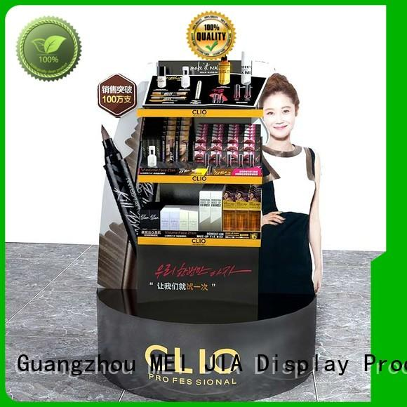 High-quality retail makeup display stand shelves factory for exclusive shop