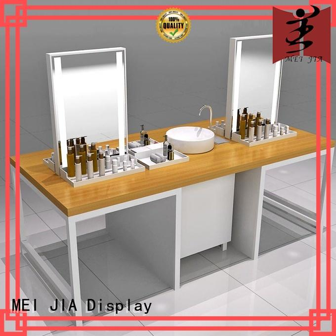 MEI JIA Display Best cosmetic showcase factory for store