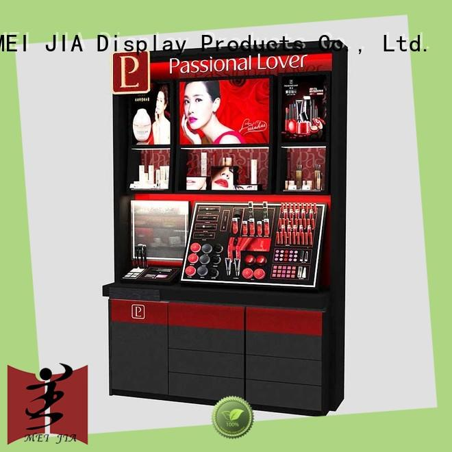 MEI JIA Display customized acrylic makeup holder for brand for store
