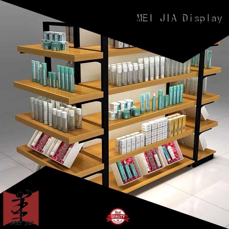 MEI JIA Display shelves makeup display stand supply for showroom