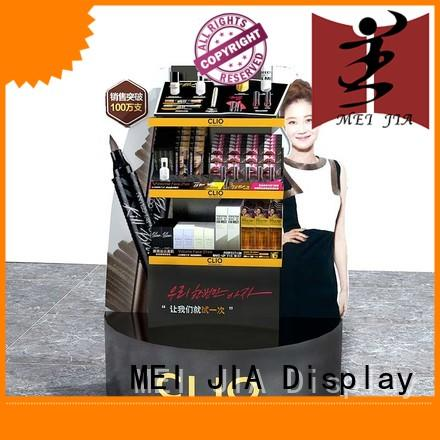 body cosmetics acrylic display cabinet for shoppe MEI JIA Display