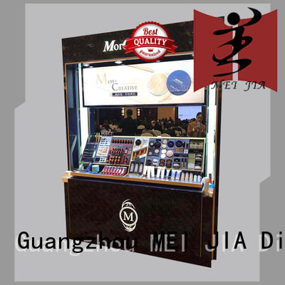 shelf retail makeup display stand manufacturer for shop MEI JIA Display