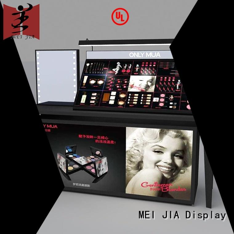 MEI JIA Display brand acrylic makeup display holder for showroom