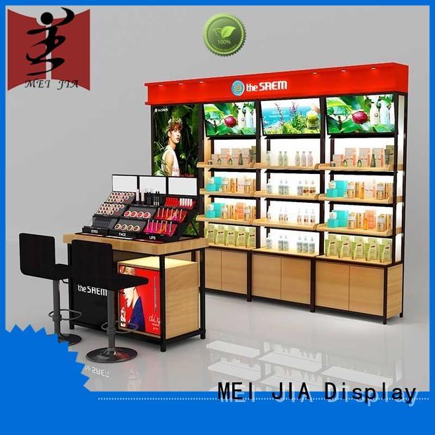 MEI JIA Display customized acrylic makeup display great design for showroom
