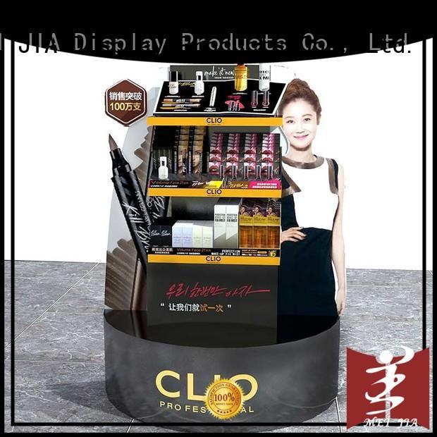 cosmetic display racks showcase for showroom MEI JIA Display