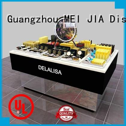 MEI JIA Display table acrylic cosmetic display stand supply for counter